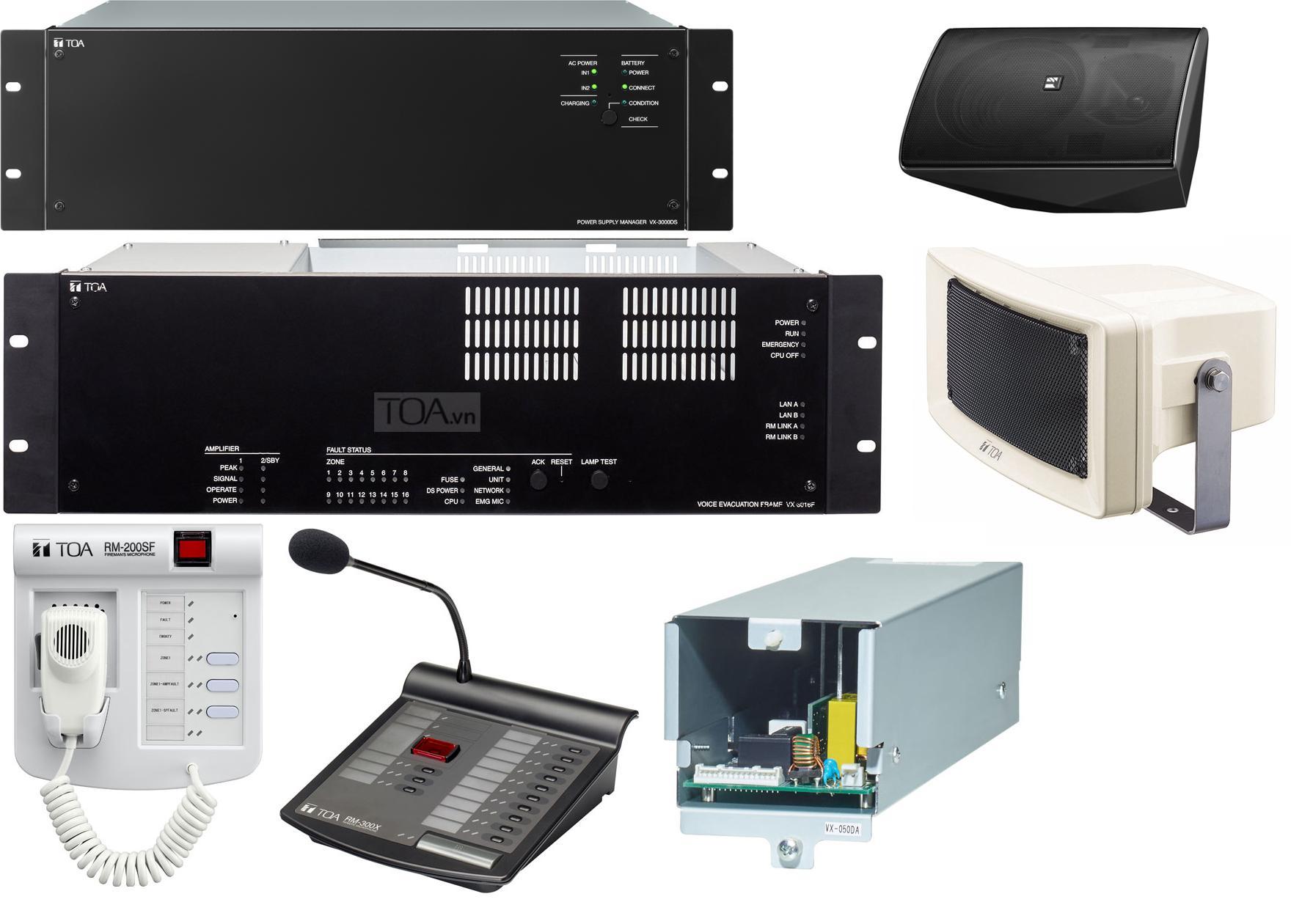 Hệ thống phát thanh di tản SX-2000