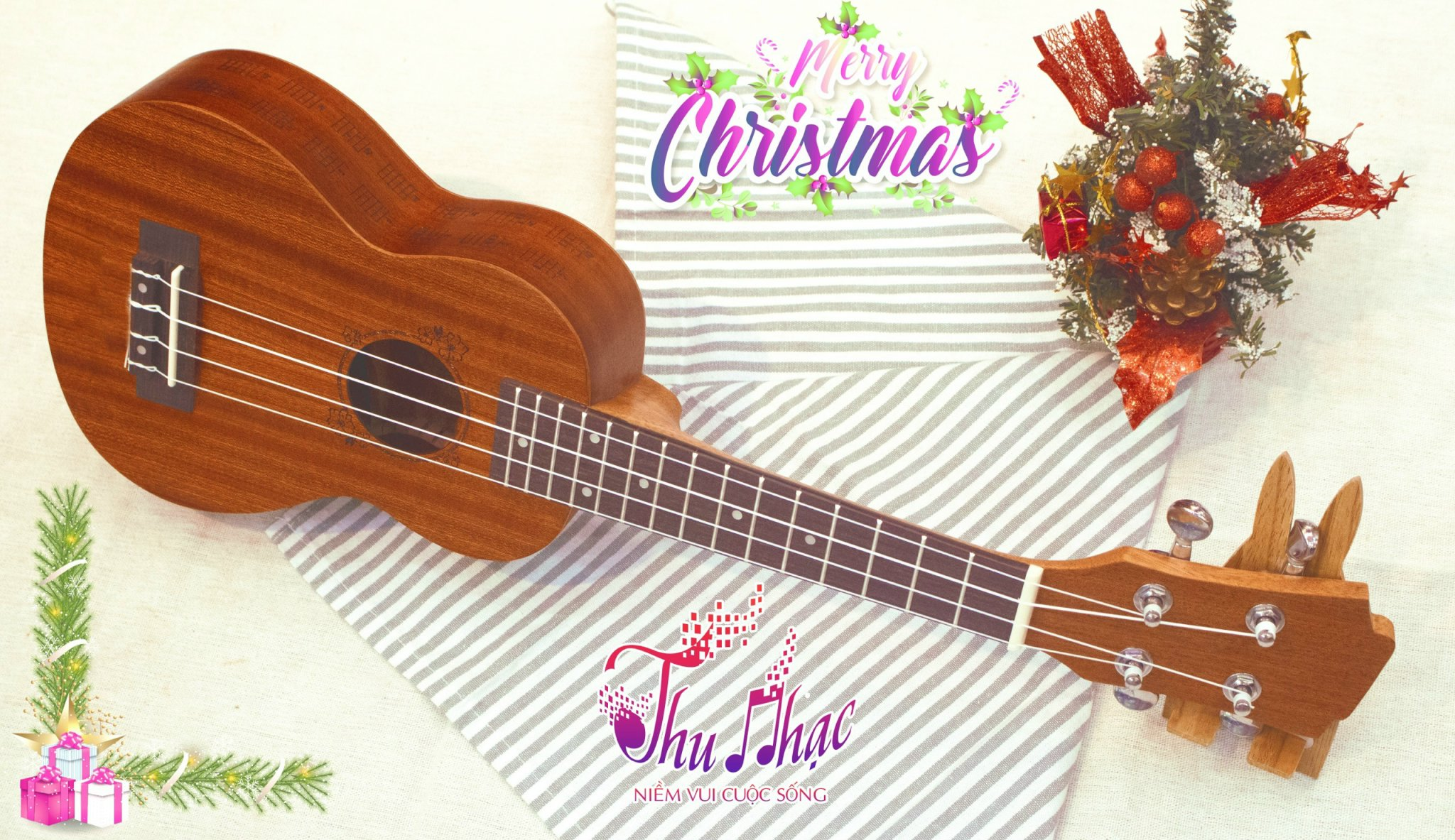 Quà tặng Giáng Sinh ý nghĩa-đàn Ukulele